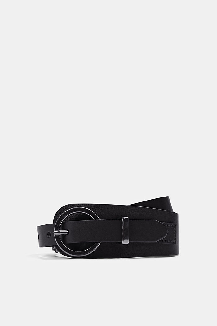 Genuine leather waist belt