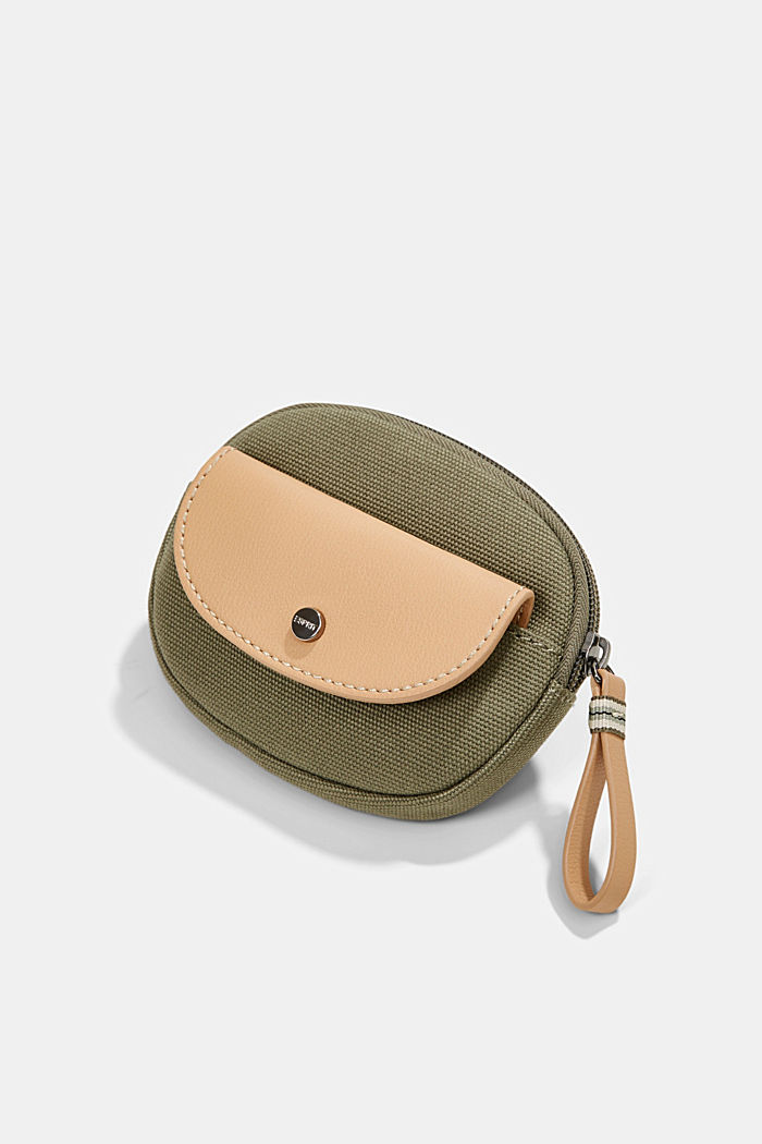 Susie T.: Canvas zip pouch, vegan