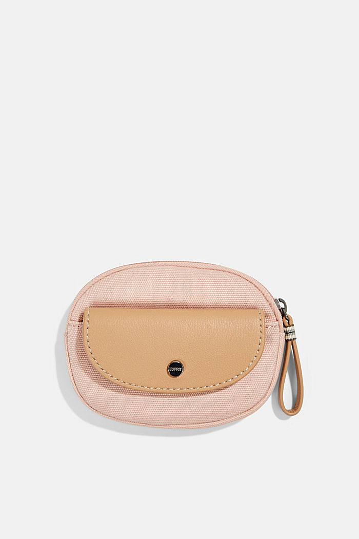 Susie T.: Canvas zip pouch, vegan, NUDE, detail image number 0