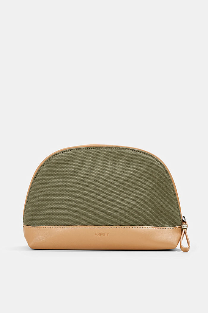 Susie T.: Canvas make-up bag, vegan