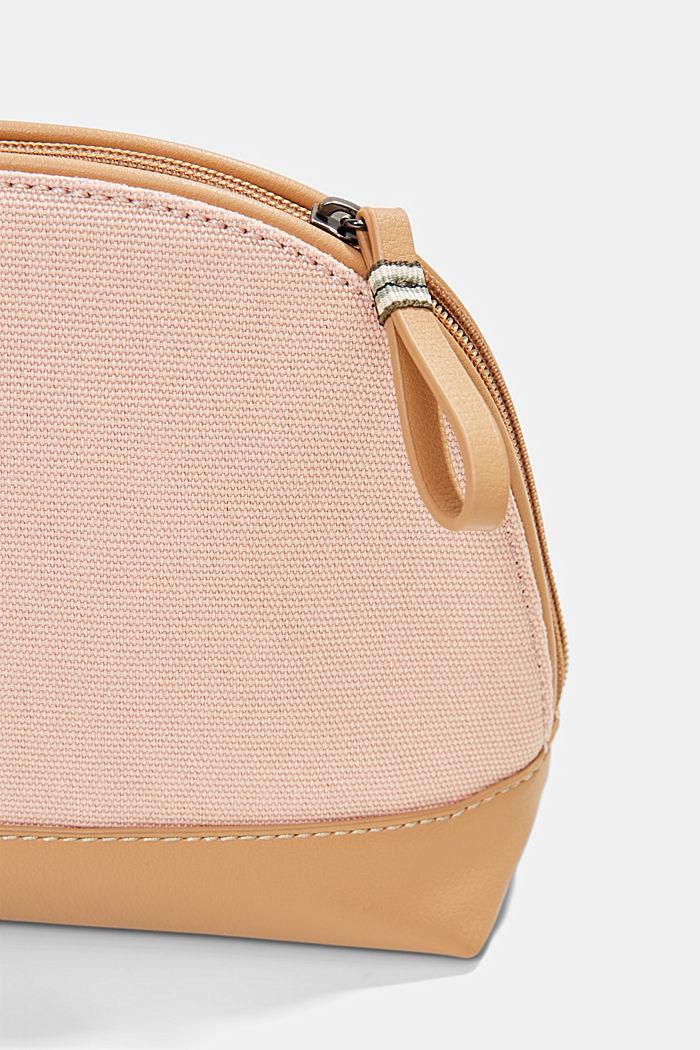 Susie T.: Canvas make-up bag, vegan