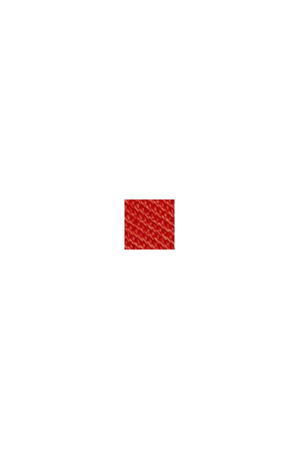 Chinobukser med innovativ stretchfiber, ORANGE RED, swatch