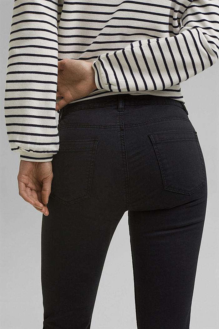 Capri-Hose mit Superstretch-Komfort, BLACK, detail image number 5