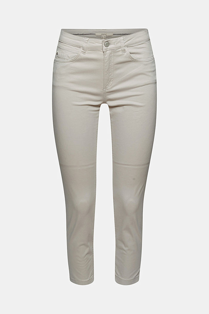 Super stretchy and comfy Capri trousers, LIGHT GREY, detail image number 8