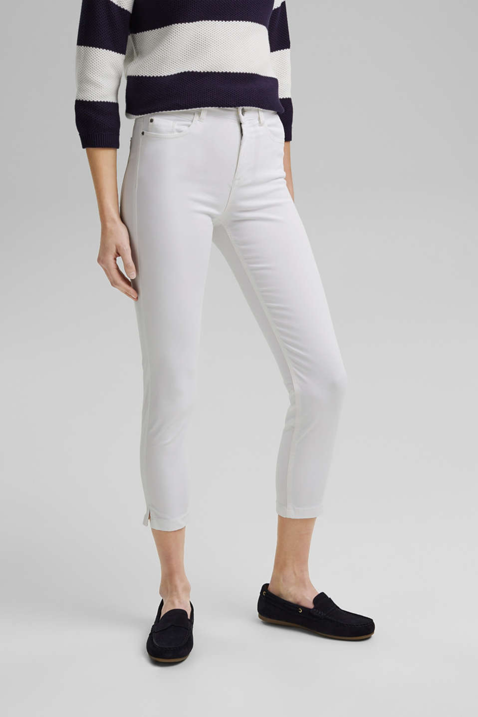 Esprit - Pantalon corsaire au confort super stretch
