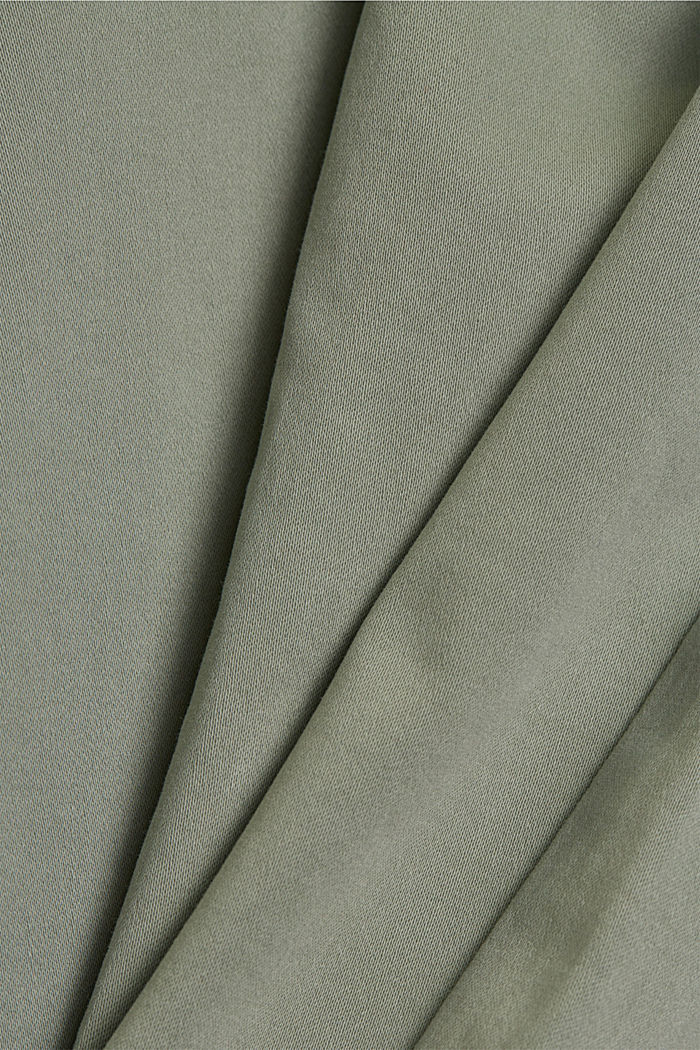 Super stretchy and comfy Capri trousers, LIGHT KHAKI, detail image number 4