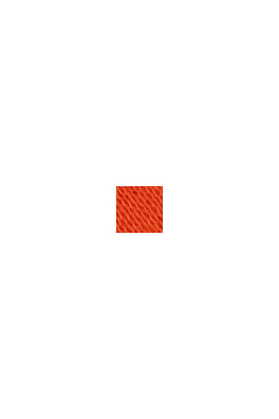 Capribroek met superveel stretch, ORANGE RED, swatch