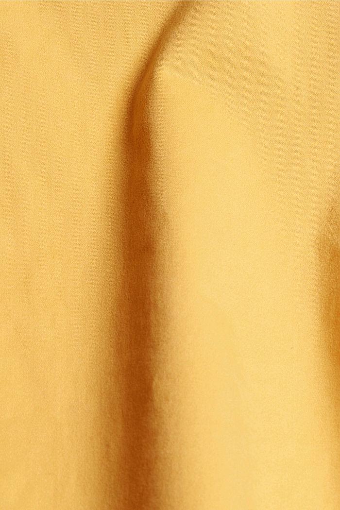Pantaloni capri super stretch, SUNFLOWER YELLOW, detail image number 4