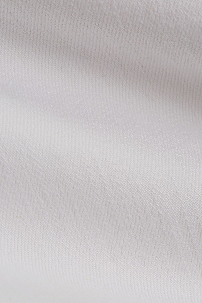 Stretch jeans made of organic cotton, WHITE, detail image number 4
