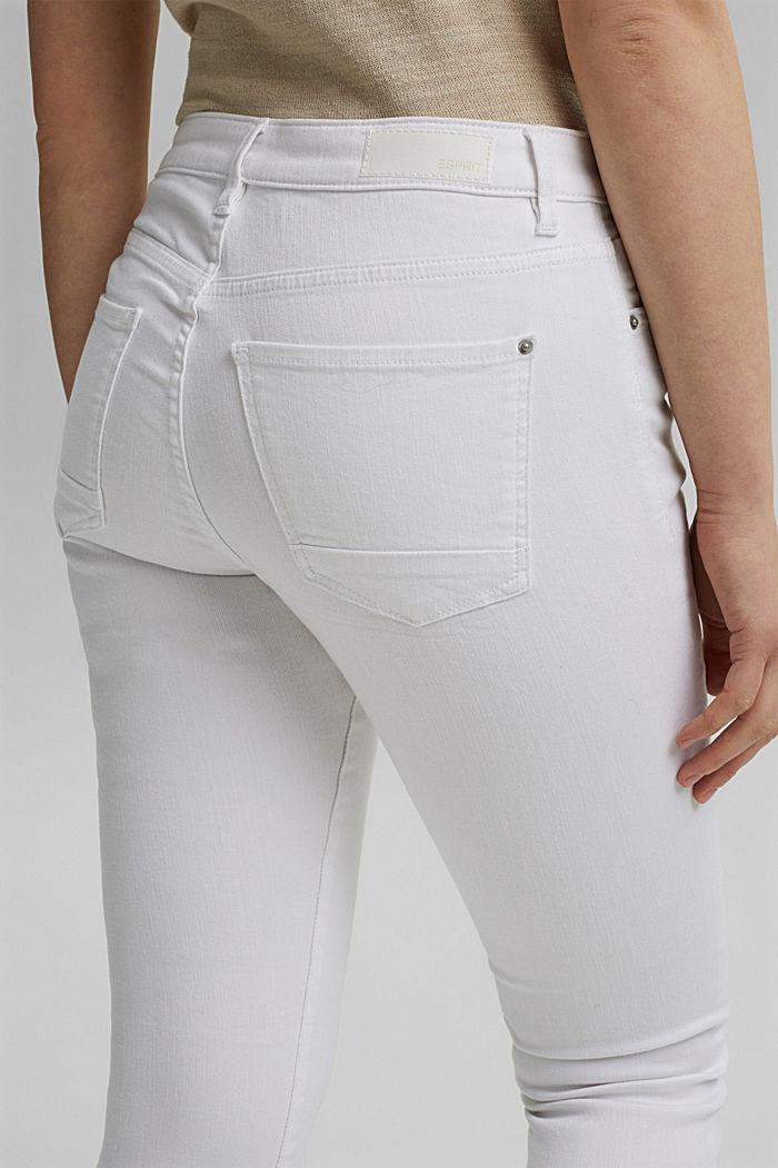 Jean stretch en coton biologique, WHITE, detail image number 5