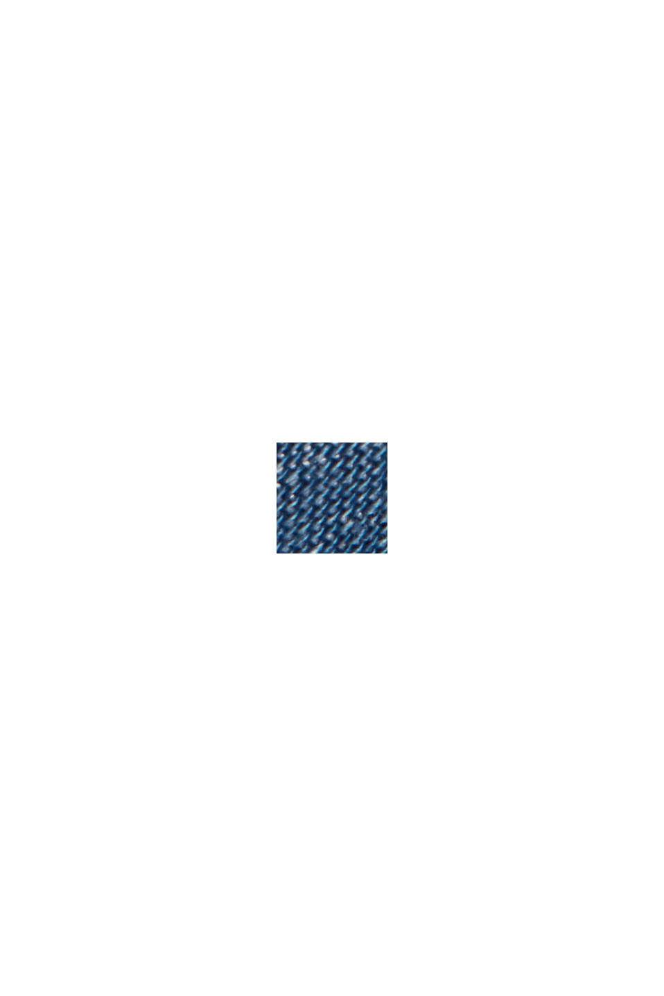 En TENCEL™: pantalón deportivo con acabado vaquero, BLUE MEDIUM WASHED, swatch