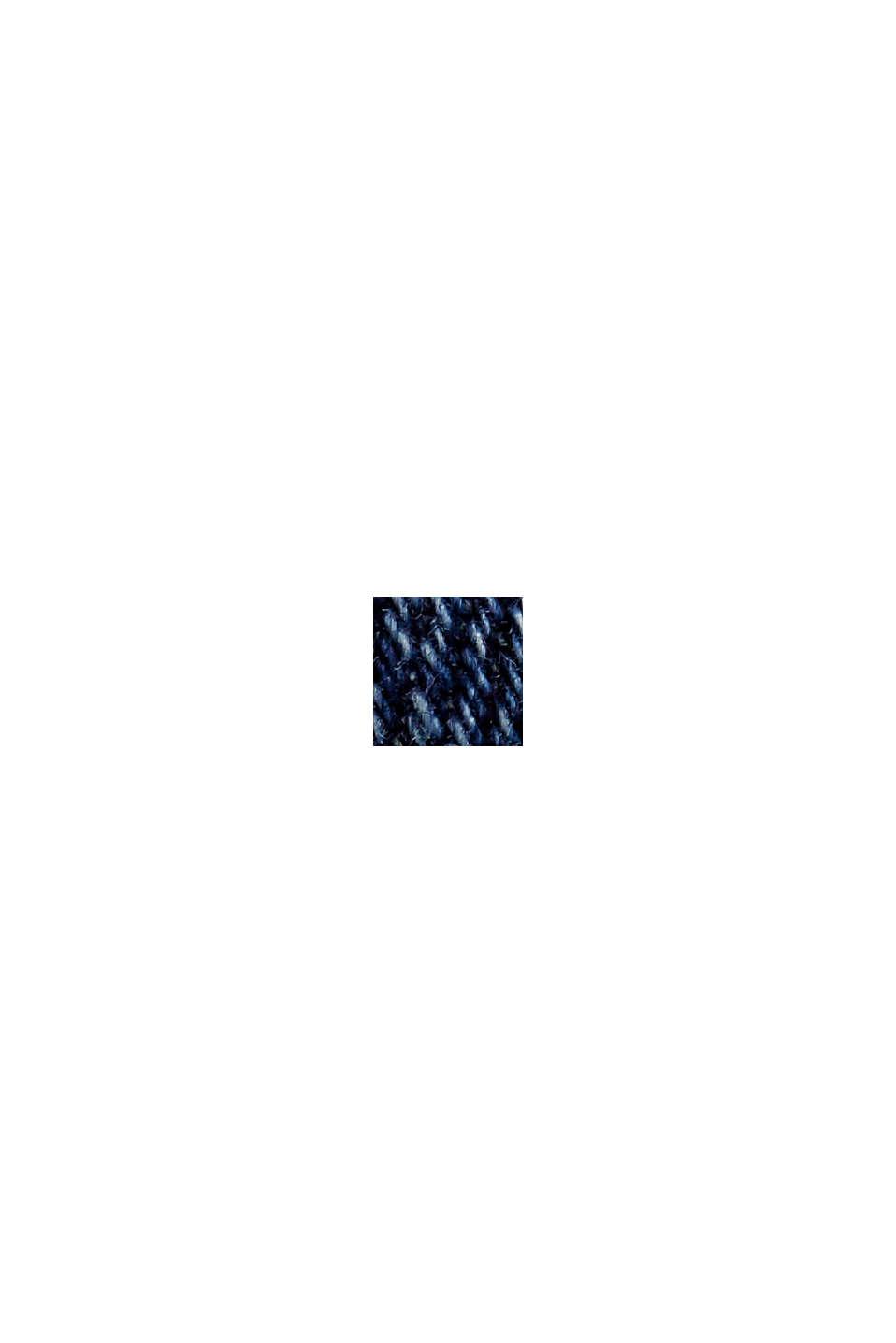 Capri-jeans van biologisch katoen, BLUE DARK WASHED, swatch