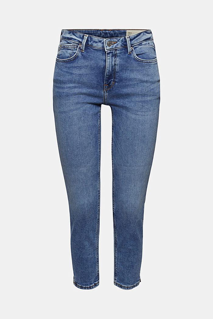 Organic cotton Capri jeans