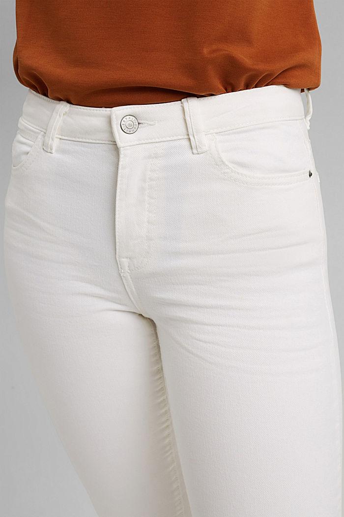 Cropped Hose mit geradem Bein, OFF WHITE, detail image number 2