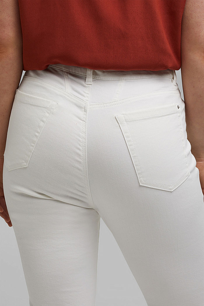 CURVY Shaping-Jeans mit Organic Cotton, WHITE, detail image number 2