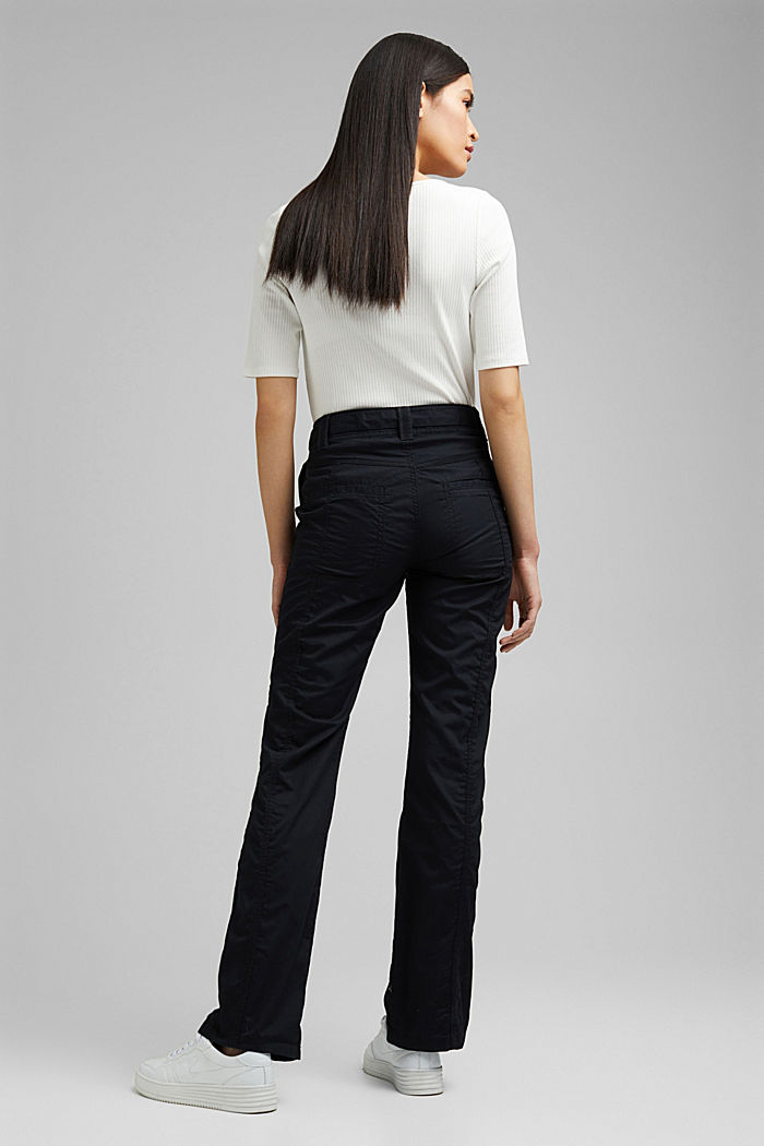 PLAY cargo trousers, 100% organic cotton, BLACK, detail image number 3