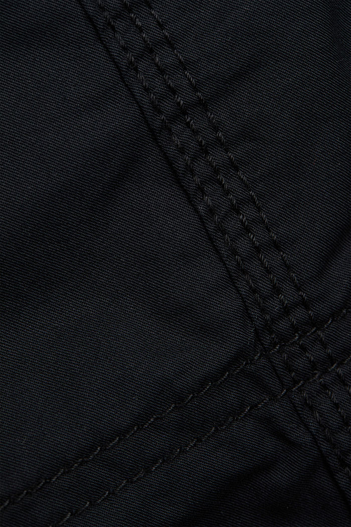 PLAY cargo trousers, 100% organic cotton, BLACK, detail image number 4