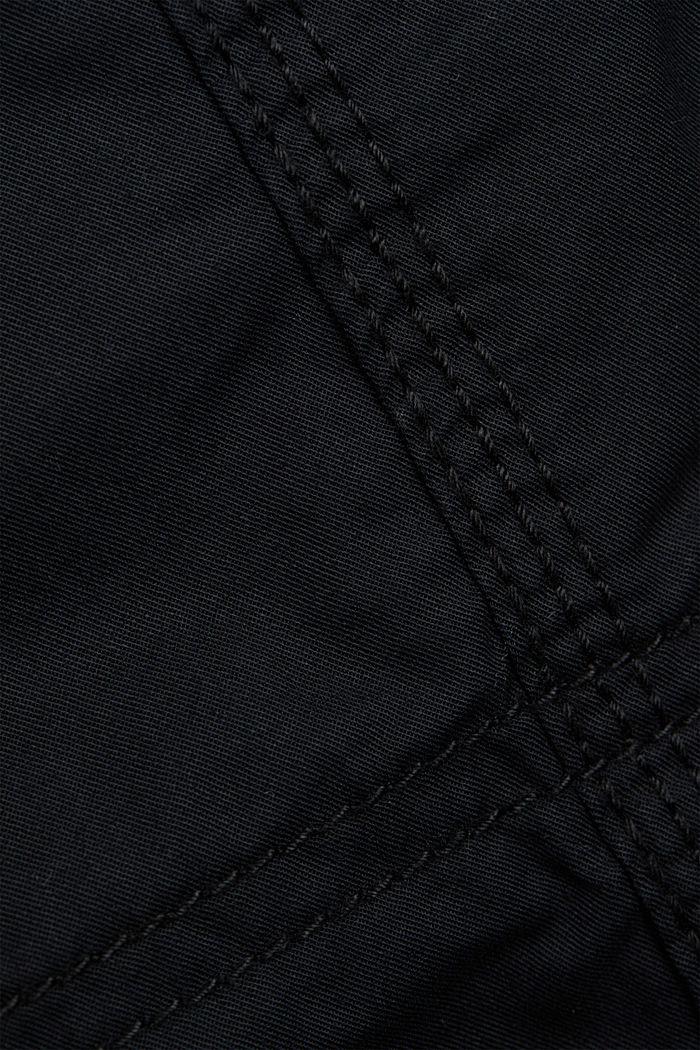 PLAY Cargohose, 100% Organic Cotton, BLACK, detail image number 4