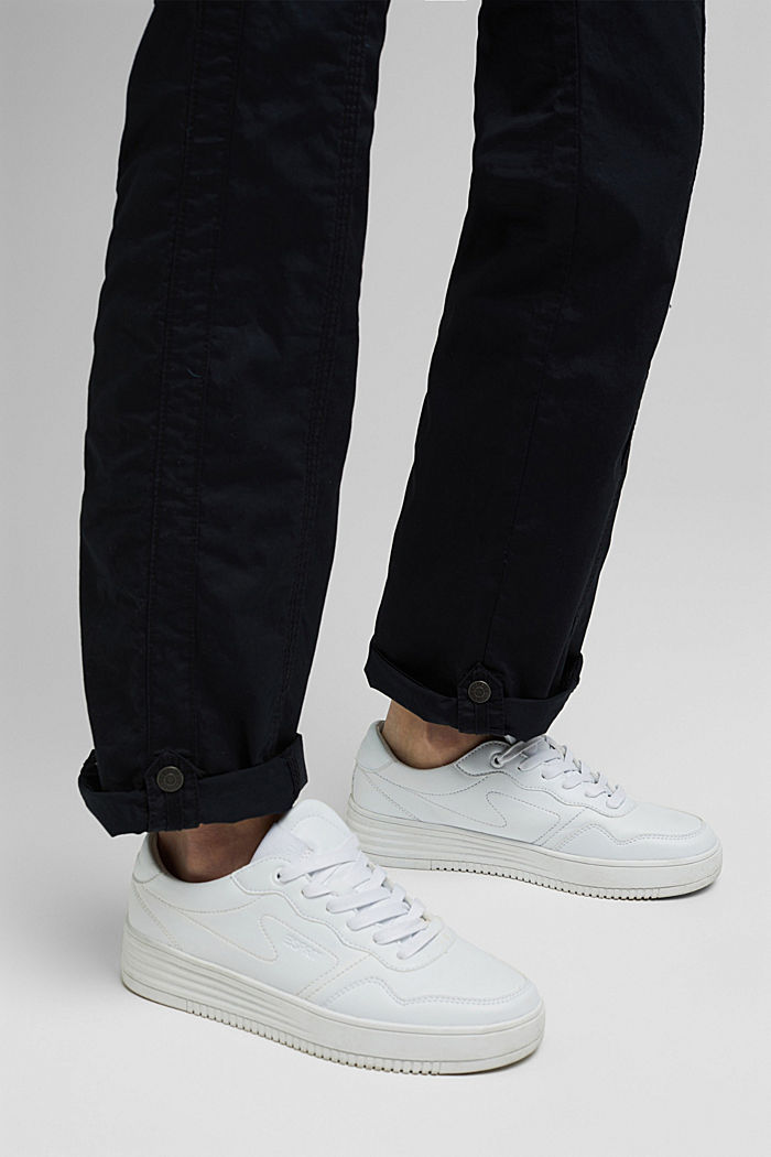 PLAY cargo trousers, 100% organic cotton, BLACK, detail image number 5