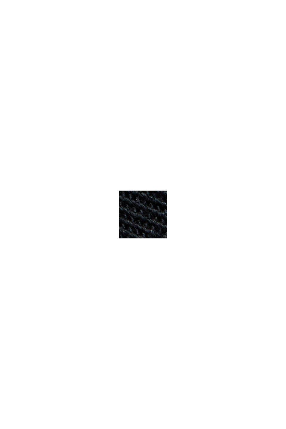 PLAY-cargohousut, 100 % luomupuuvillaa, BLACK, swatch