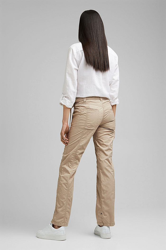PLAY pantalones cargo, 100% algodón ecológico, BEIGE, detail image number 3