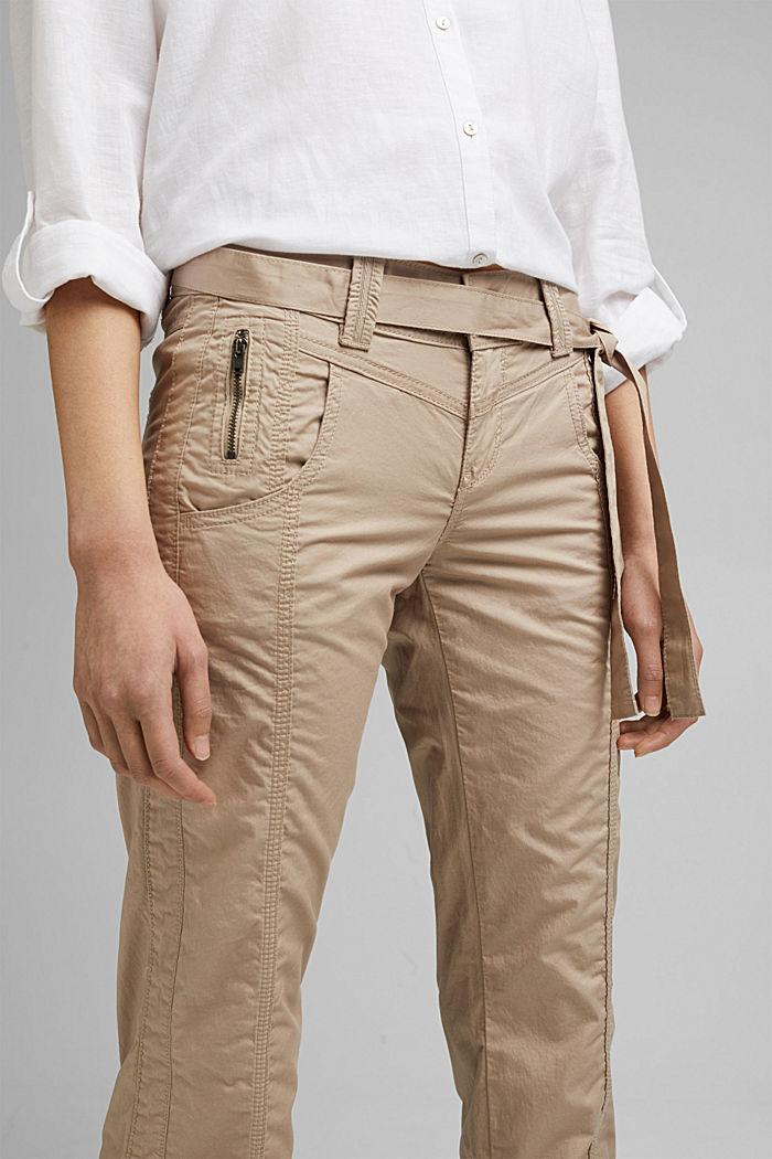 PLAY pantalones cargo, 100% algodón ecológico, BEIGE, detail image number 2