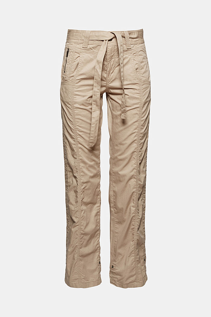 PLAY cargo trousers, 100% organic cotton, BEIGE, detail image number 6