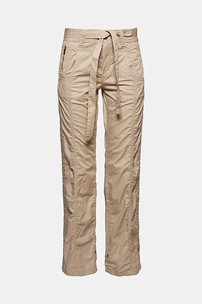 PLAY pantalones cargo, 100% algodón ecológico, BEIGE, detail image number 6