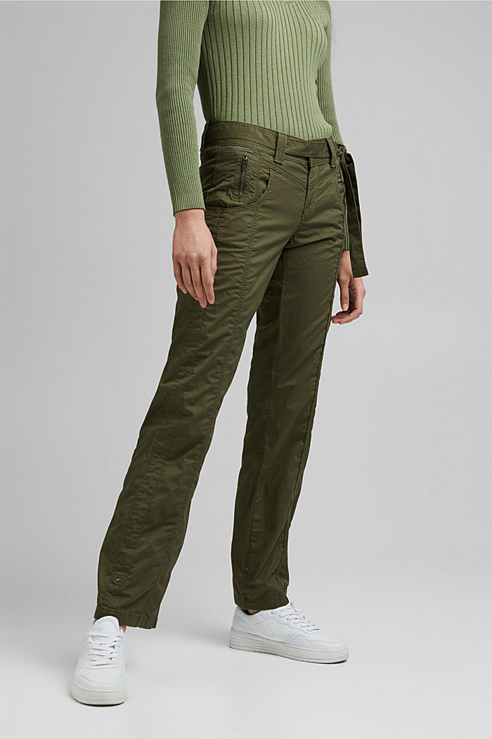 PLAY cargo trousers, 100% organic cotton