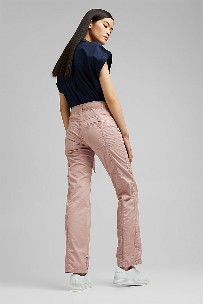 PLAY cargo trousers, 100% organic cotton, OLD PINK, detail image number 3