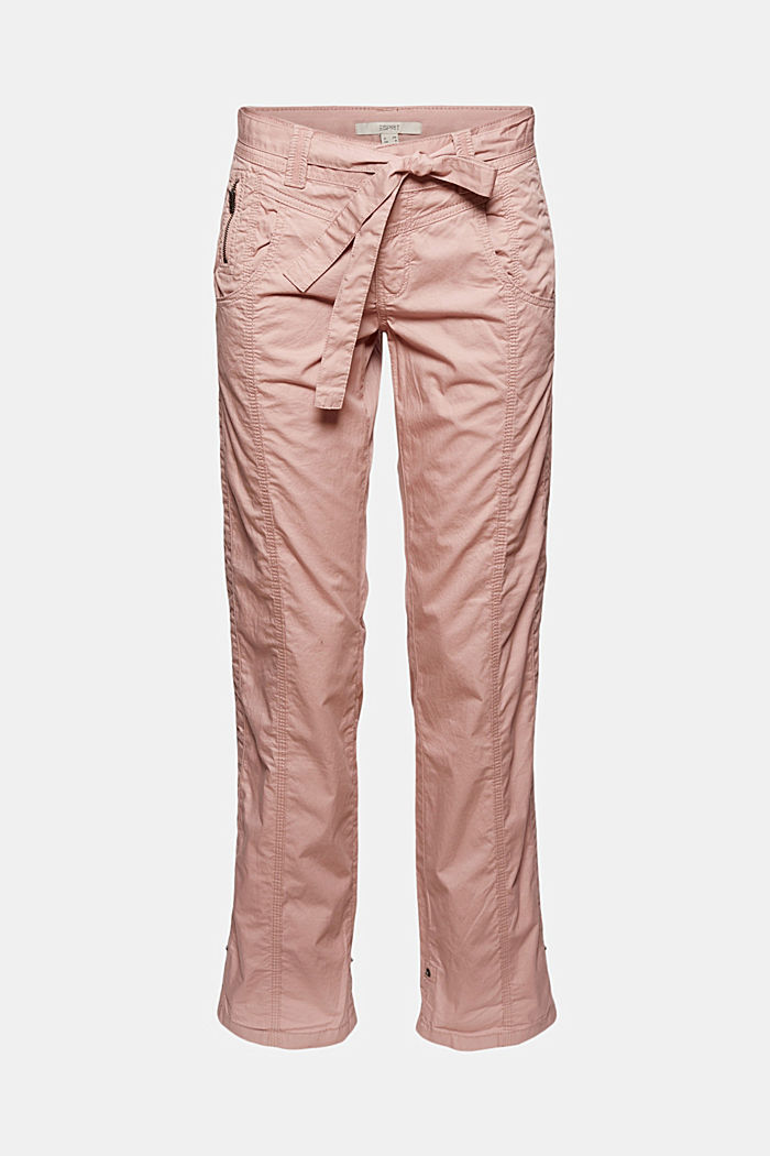 PLAY cargo trousers, 100% organic cotton, OLD PINK, detail image number 8