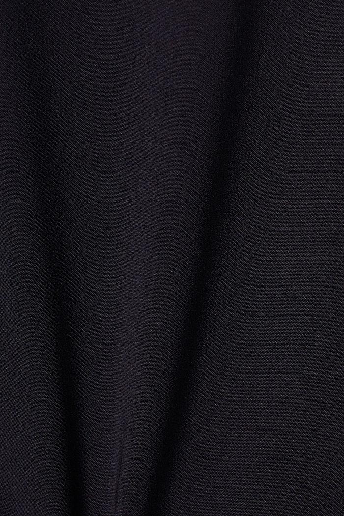 Business pantalon van een katoenmix, NAVY, detail image number 4