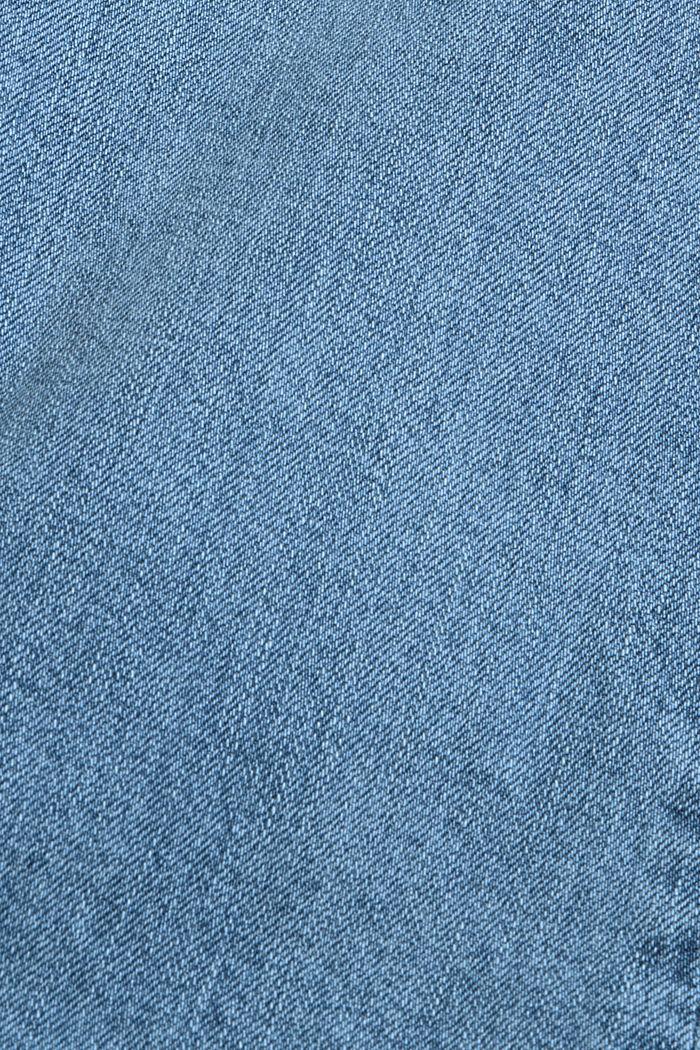 Dżinsy z rozszerzanymi nogawkami, bawełna ekologiczna, BLUE LIGHT WASHED, detail image number 4