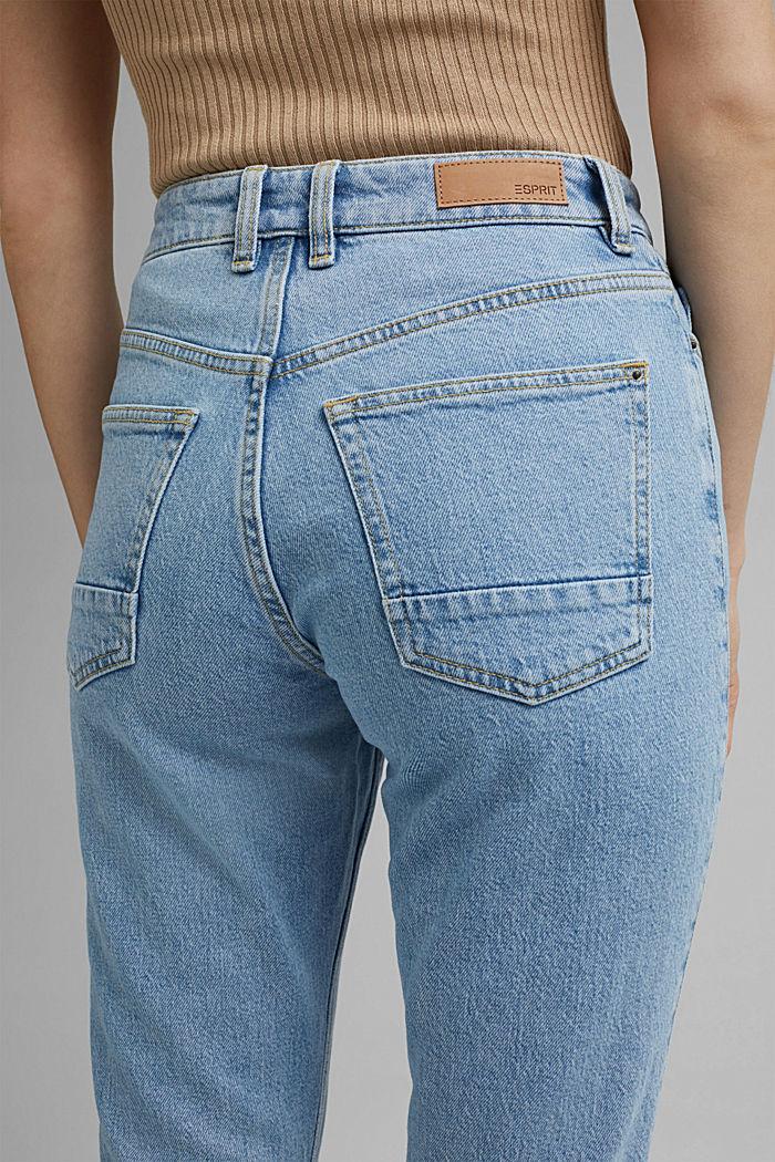 Jeans met 7/8-pijpen, BLUE LIGHT WASHED, detail image number 5