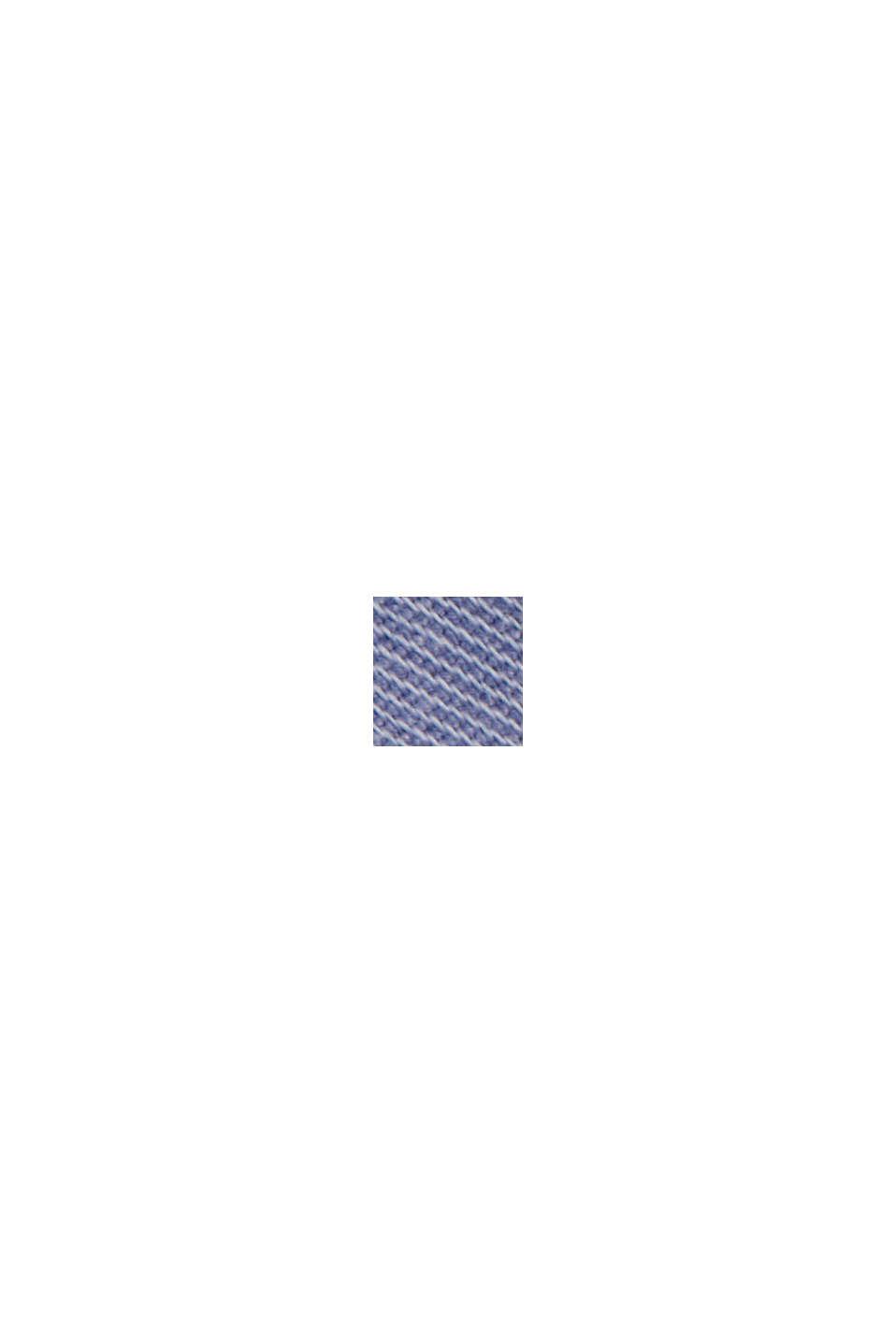 Med bælte: bermudashorts i bomuldsstretch, PASTEL BLUE, swatch