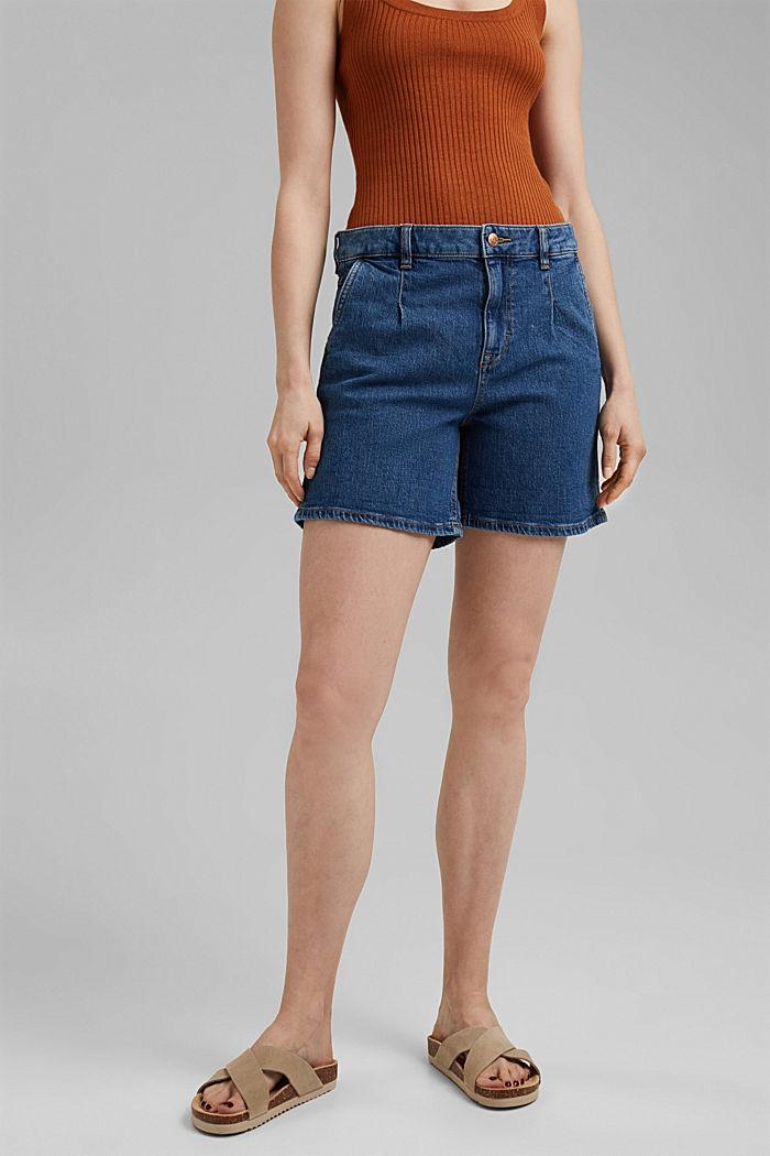 Short en jean en coton biologique