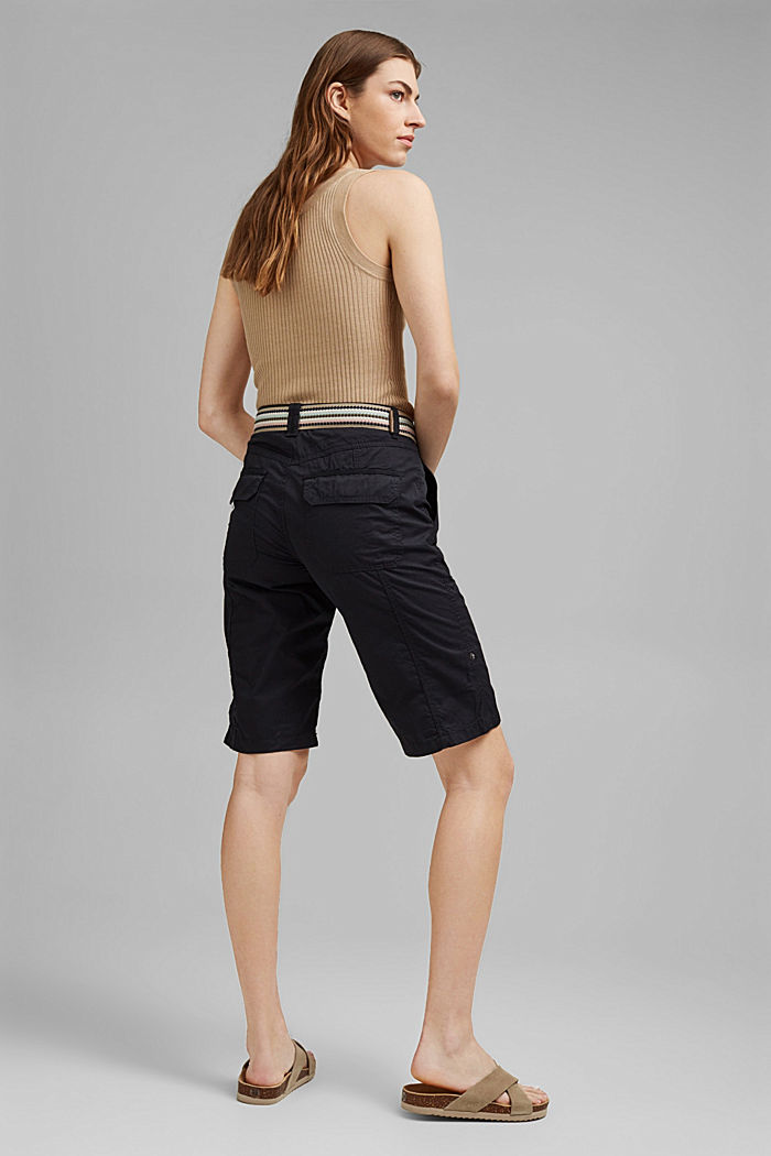 PLAY Bermudas made of organic cotton, BLACK, detail image number 3