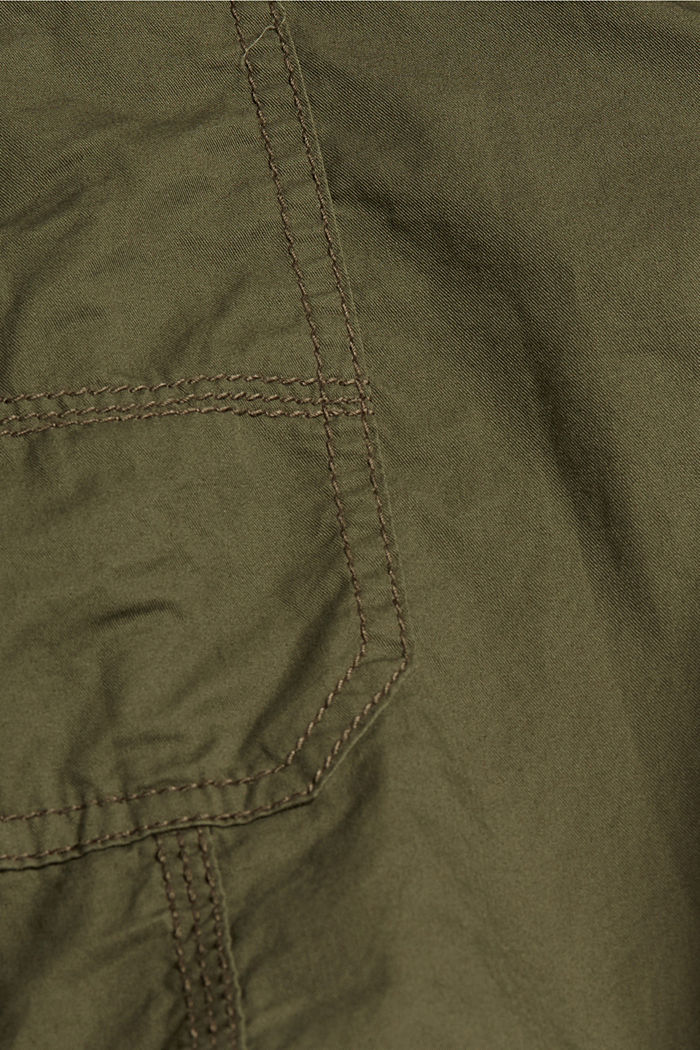 PLAY Bermudas made of organic cotton, KHAKI GREEN, detail image number 4