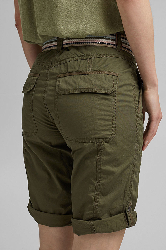 PLAY Bermudas made of organic cotton, KHAKI GREEN, detail image number 5