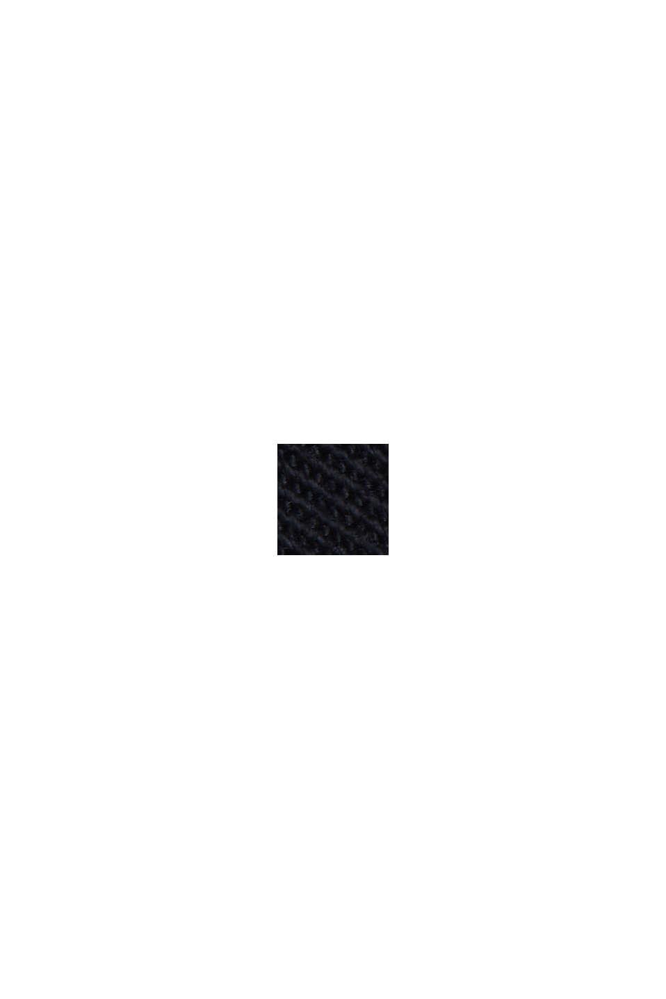 PLAY-shorts af økologisk bomuld, BLACK, swatch