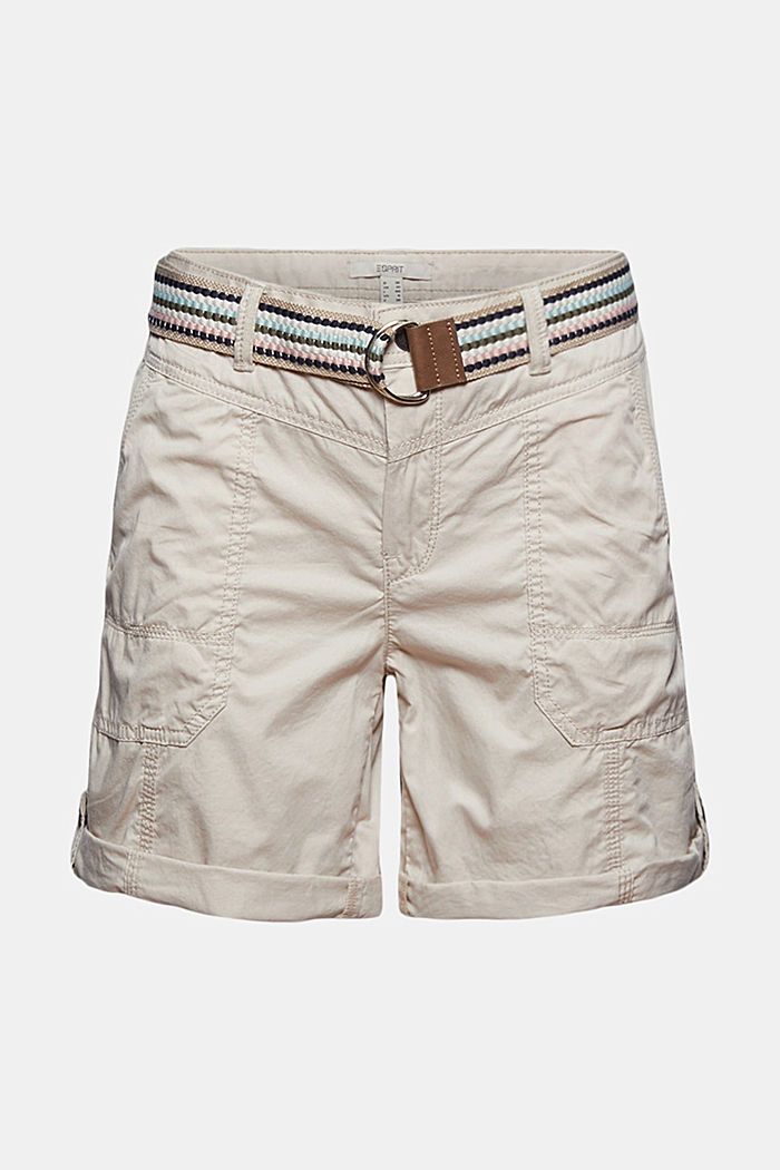 PLAY shorts made of organic cotton, SAND, detail image number 6
