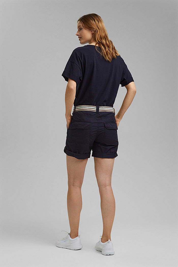 PLAY shorts made of organic cotton, NAVY, detail image number 3