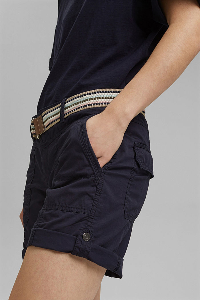 PLAY shorts made of organic cotton, NAVY, detail image number 2