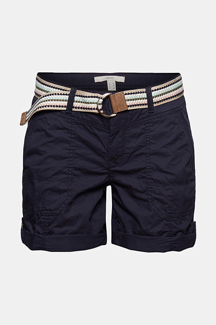 PLAY shorts made of organic cotton, NAVY, detail image number 6