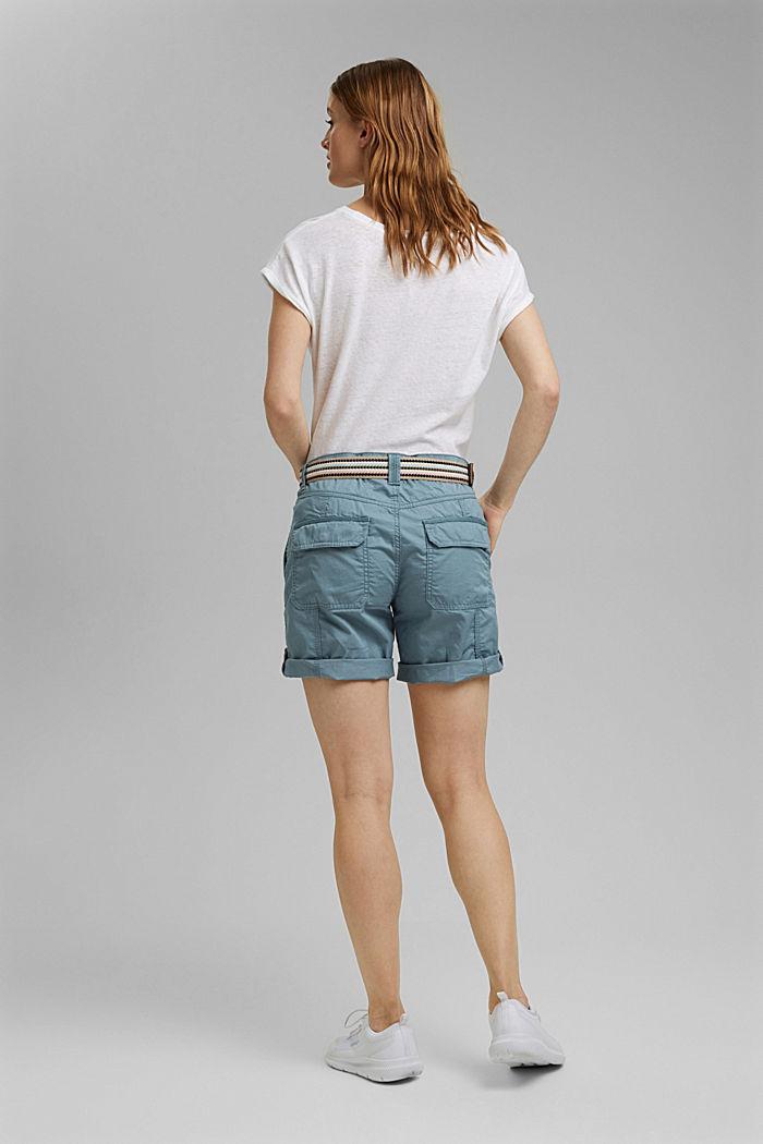 PLAY Shorts aus Organic Cotton, GREY BLUE, detail image number 3