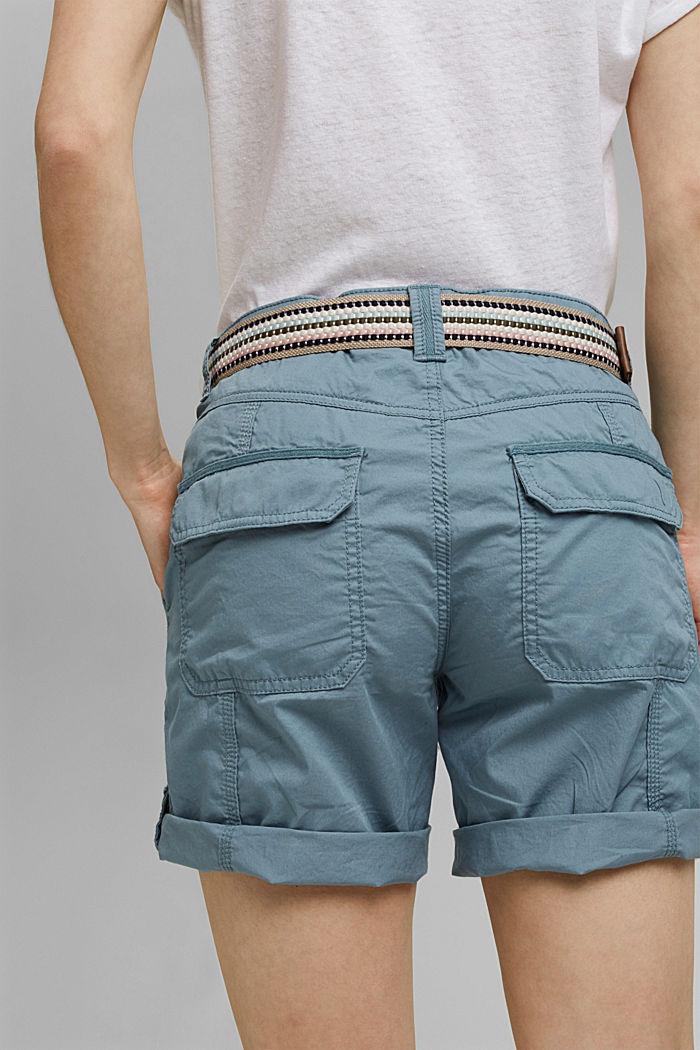 PLAY Shorts aus Organic Cotton, GREY BLUE, detail image number 5