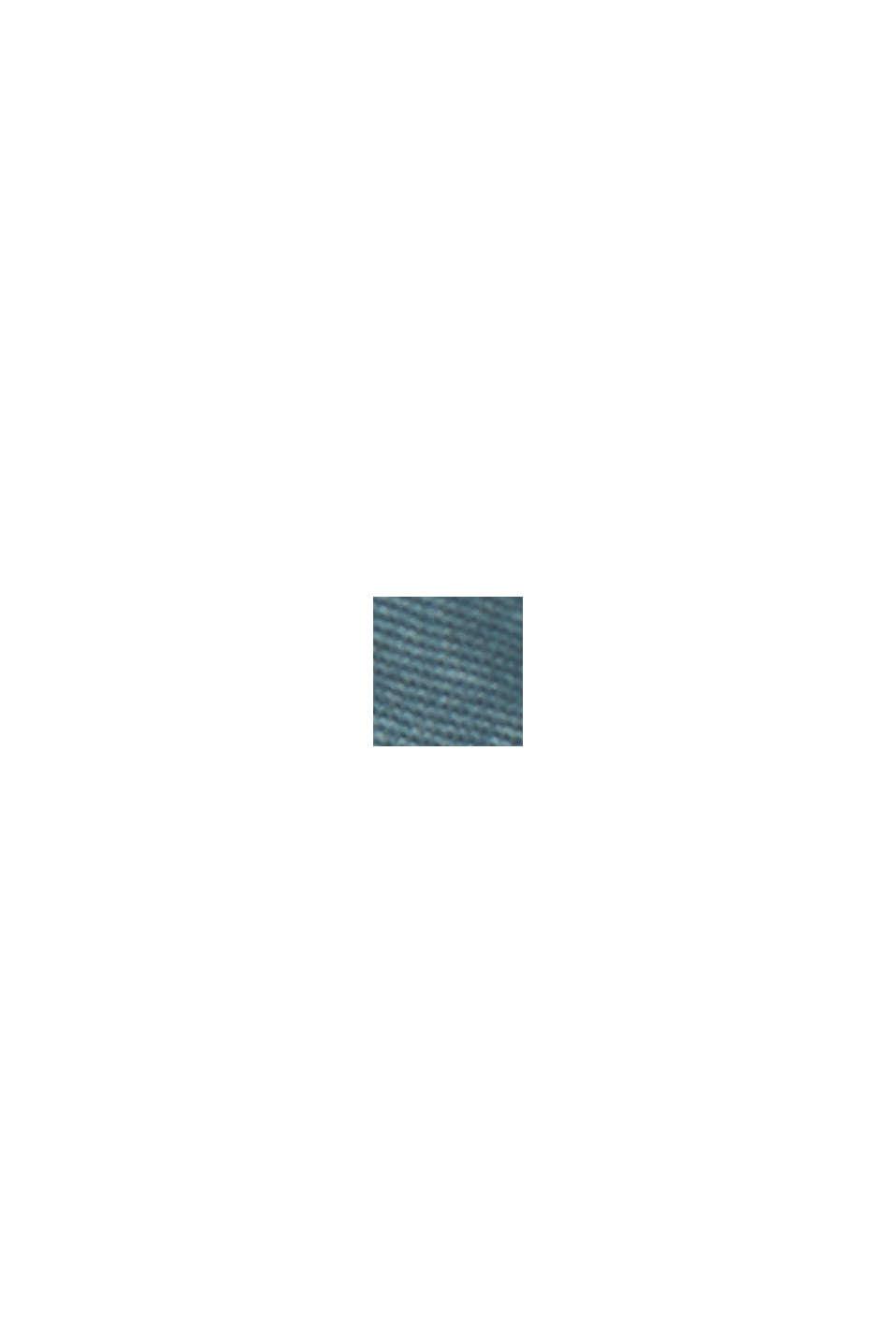 PLAY-shorts af økologisk bomuld, GREY BLUE, swatch