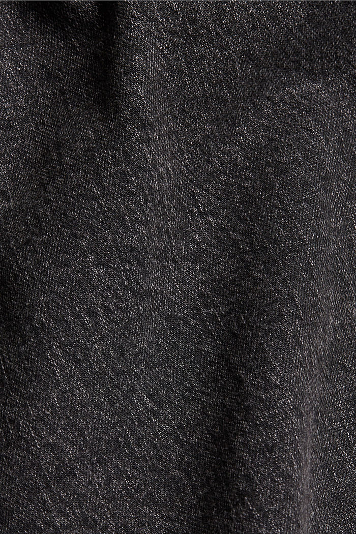 Shorts denim, BLACK DARK WASHED, detail image number 4