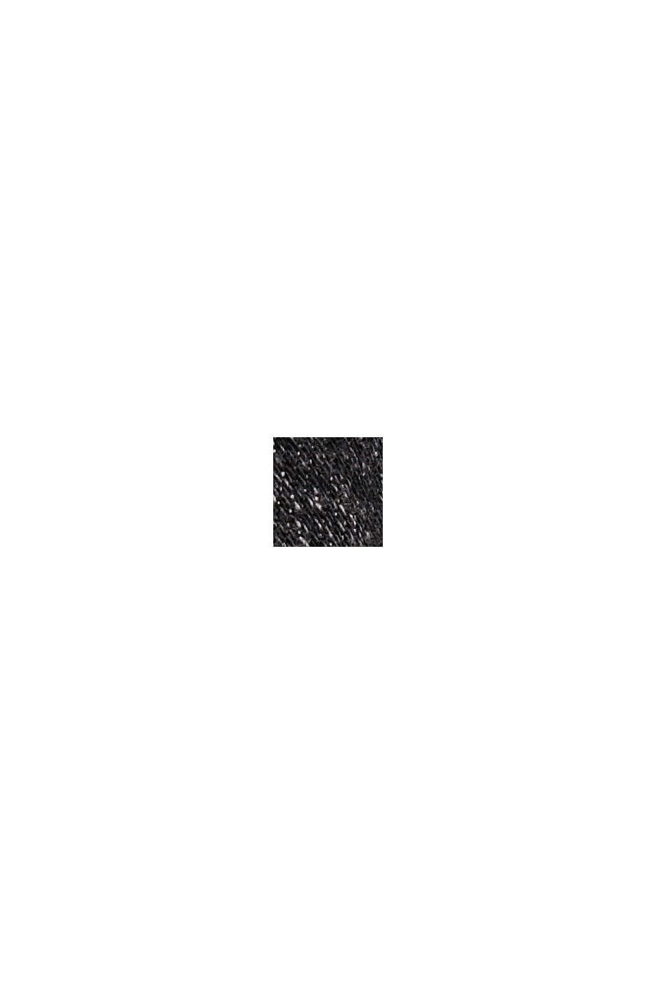 Farkkushortsit luomupuuvillaa, BLACK DARK WASHED, swatch