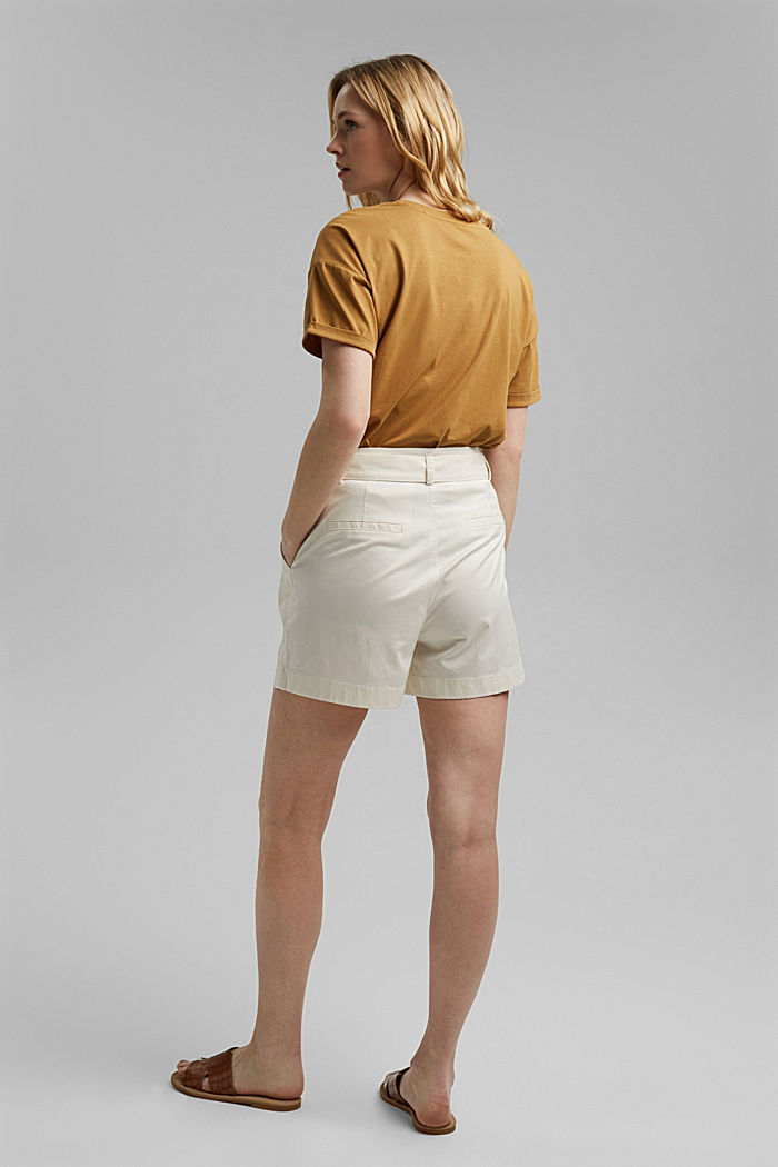 Shorts in a paper bag style with a belt, ICE, detail image number 3